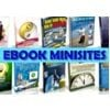Thumbnail Ebook Minisites Pack 2 - Private label rights and msr
