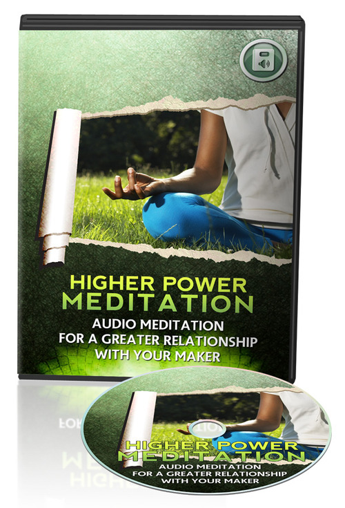 Product picture Guided meditation to connect with your higher power