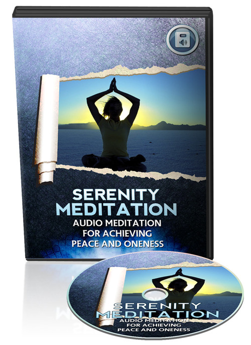 Product picture Guide meditation for serenity